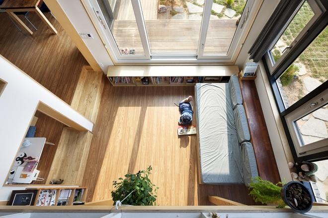 Ngôi nhà với phong cách tối giản đẹp như trong phim của gia đình 4 người ở Hàn Quốc - Ảnh 6.