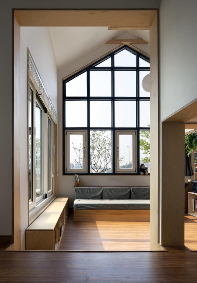 Ngôi nhà với phong cách tối giản đẹp như trong phim của gia đình 4 người ở Hàn Quốc - Ảnh 7.