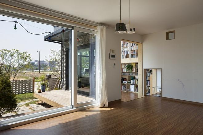 Ngôi nhà với phong cách tối giản đẹp như trong phim của gia đình 4 người ở Hàn Quốc - Ảnh 8.