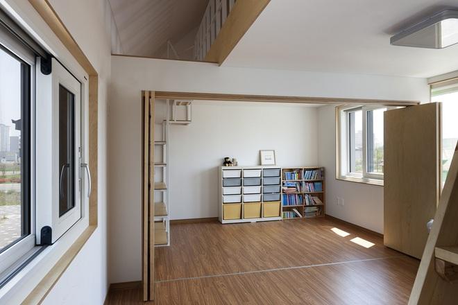 Ngôi nhà với phong cách tối giản đẹp như trong phim của gia đình 4 người ở Hàn Quốc - Ảnh 9.