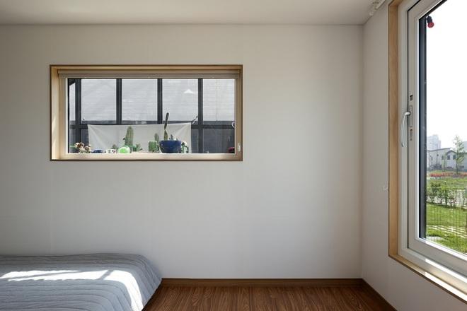 Ngôi nhà với phong cách tối giản đẹp như trong phim của gia đình 4 người ở Hàn Quốc - Ảnh 10.