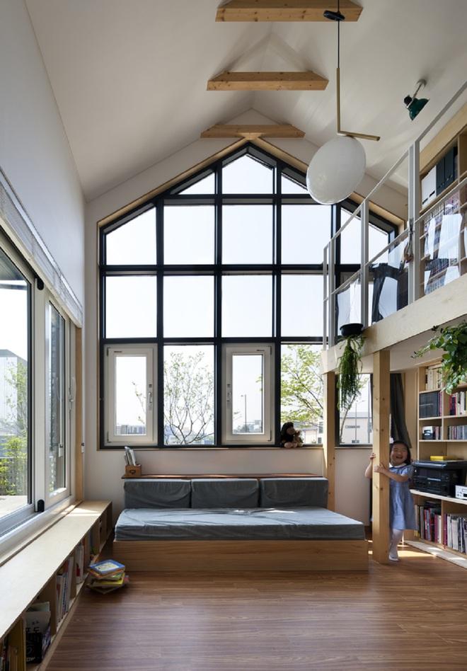 Ngôi nhà với phong cách tối giản đẹp như trong phim của gia đình 4 người ở Hàn Quốc - Ảnh 13.