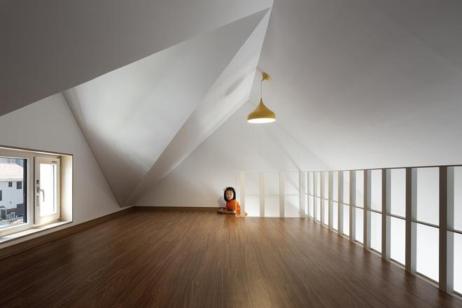 Ngôi nhà với phong cách tối giản đẹp như trong phim của gia đình 4 người ở Hàn Quốc - Ảnh 14.