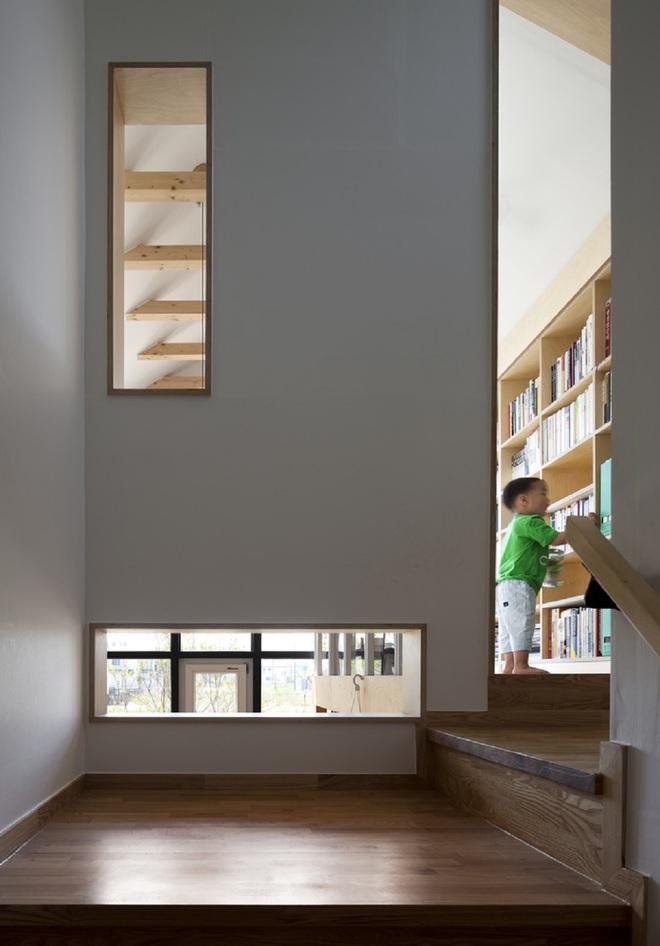 Ngôi nhà với phong cách tối giản đẹp như trong phim của gia đình 4 người ở Hàn Quốc - Ảnh 15.
