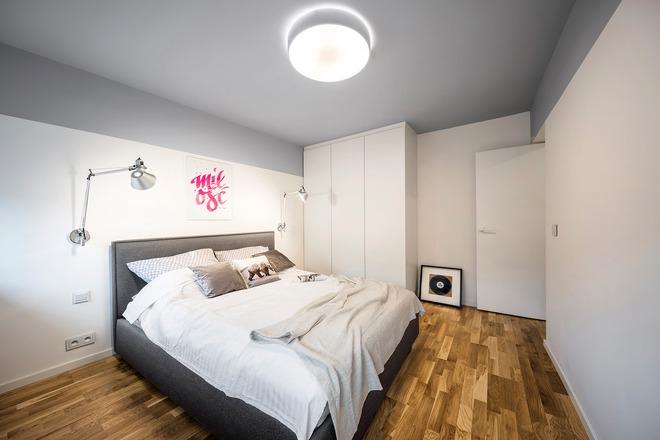 Căn hộ chỉ rộng 40m² mà vẫn đẹp hoàn hảo với hai tông màu tương phản - Ảnh 8.