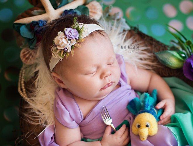 Những nàng công chúa Disney phiên bản sơ sinh – bộ ảnh đáng yêu nhất mà bạn từng thấy - Ảnh 5.
