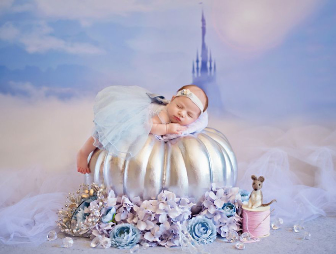 Những nàng công chúa Disney phiên bản sơ sinh – bộ ảnh đáng yêu nhất mà bạn từng thấy - Ảnh 8.