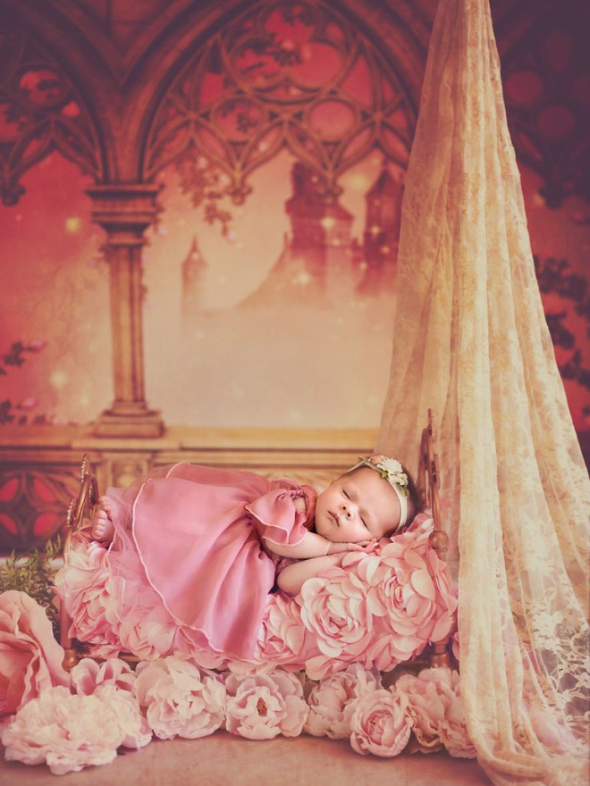Những nàng công chúa Disney phiên bản sơ sinh – bộ ảnh đáng yêu nhất mà bạn từng thấy - Ảnh 11.