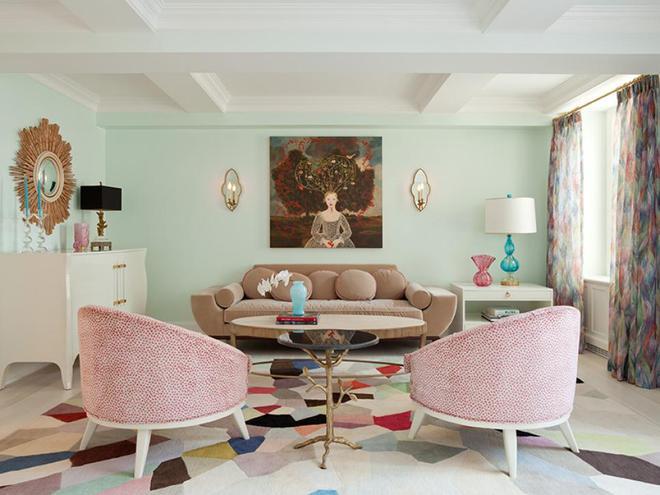 Quá đáng tiếc nếu bạn không học 20 cách kết hợp màu sắc này khi trang trí phòng khách - Ảnh 8.