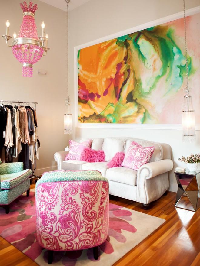 Quá đáng tiếc nếu bạn không học 20 cách kết hợp màu sắc này khi trang trí phòng khách - Ảnh 9.