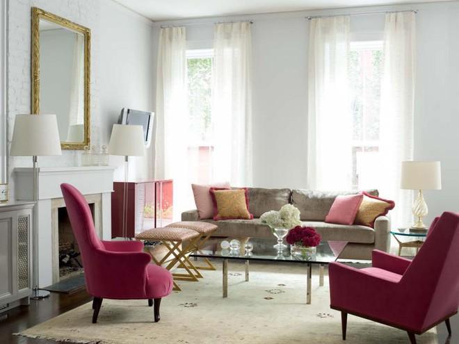 Quá đáng tiếc nếu bạn không học 20 cách kết hợp màu sắc này khi trang trí phòng khách - Ảnh 11.