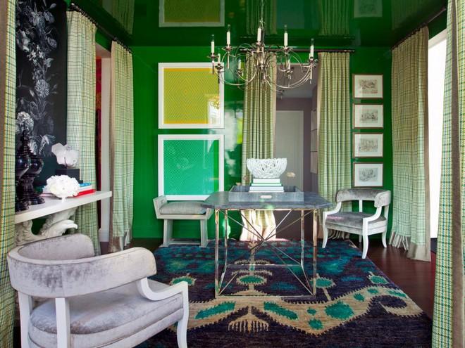Quá đáng tiếc nếu bạn không học 20 cách kết hợp màu sắc này khi trang trí phòng khách - Ảnh 13.