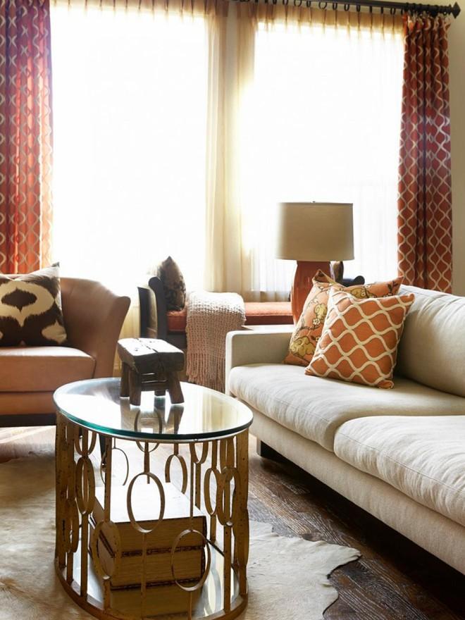 Quá đáng tiếc nếu bạn không học 20 cách kết hợp màu sắc này khi trang trí phòng khách - Ảnh 17.