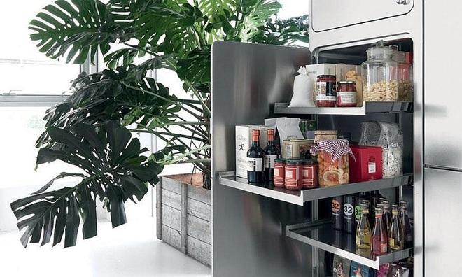 10 thiết kế tủ lưu trữ giúp bạn chứa cả thế giới chai lọ lỉnh kỉnh trong phòng bếp - Ảnh 6.