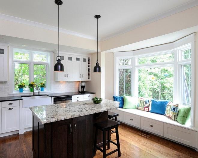 10 nhà bếp dưới đây đã trở nên phong cách hơn nhờ thiết kế ghế ngồi bên cửa sổ - Ảnh 7.
