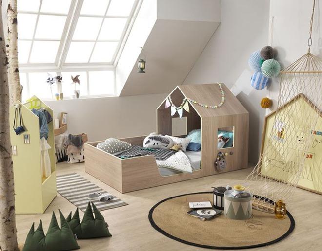 Những mẫu giường ngủ cho bé đến người lớn cũng bị đốn tim - Ảnh 14.