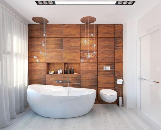 Những mẫu bồn tắm đủ sức khiến cả căn phòng tắm bừng sáng - Ảnh 1.
