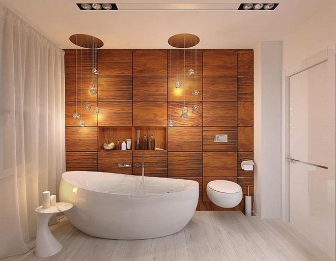 Những mẫu bồn tắm đủ sức khiến cả căn phòng tắm bừng sáng - Ảnh 2.