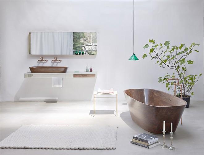 Những mẫu bồn tắm đủ sức khiến cả căn phòng tắm bừng sáng - Ảnh 4.