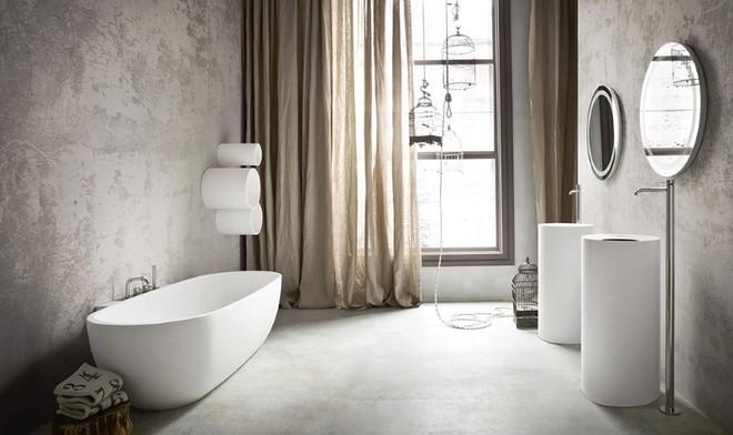 Những mẫu bồn tắm đủ sức khiến cả căn phòng tắm bừng sáng - Ảnh 5.