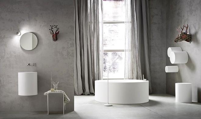 Những mẫu bồn tắm đủ sức khiến cả căn phòng tắm bừng sáng - Ảnh 6.
