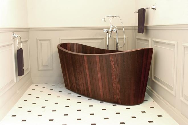 Những mẫu bồn tắm đủ sức khiến cả căn phòng tắm bừng sáng - Ảnh 7.
