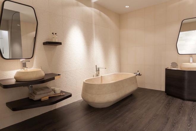 Những mẫu bồn tắm đủ sức khiến cả căn phòng tắm bừng sáng - Ảnh 8.