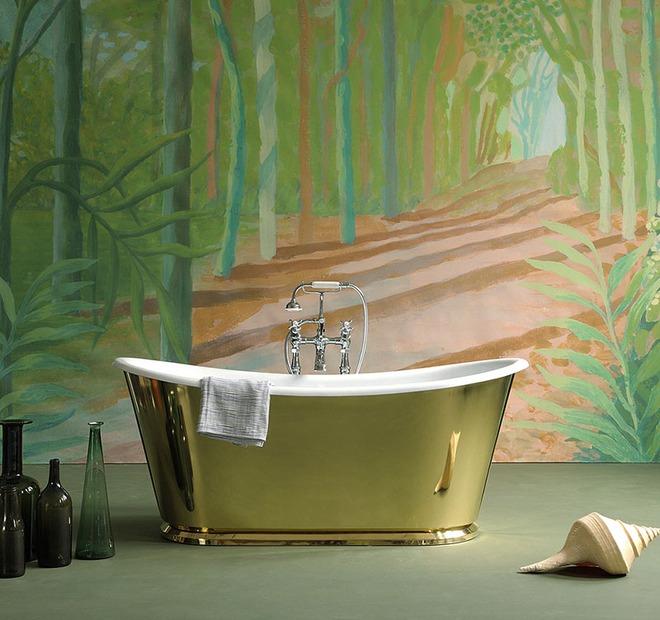 Những mẫu bồn tắm đủ sức khiến cả căn phòng tắm bừng sáng - Ảnh 11.