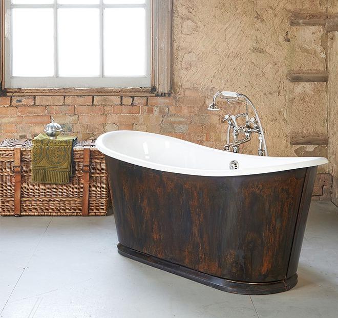 Những mẫu bồn tắm đủ sức khiến cả căn phòng tắm bừng sáng - Ảnh 12.