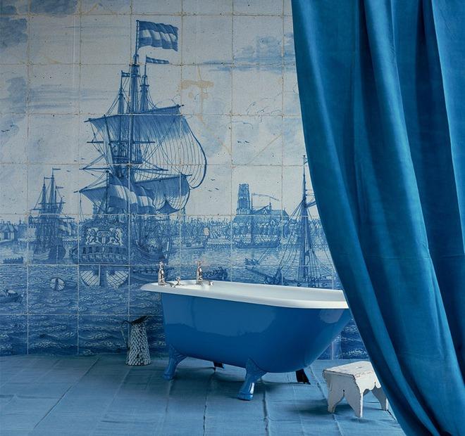 Những mẫu bồn tắm đủ sức khiến cả căn phòng tắm bừng sáng - Ảnh 13.