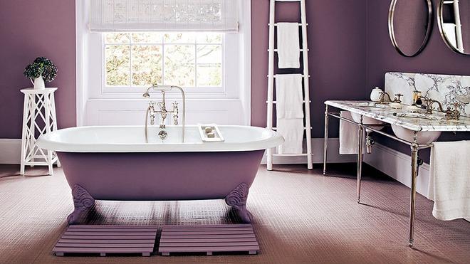 Những mẫu bồn tắm đủ sức khiến cả căn phòng tắm bừng sáng - Ảnh 14.