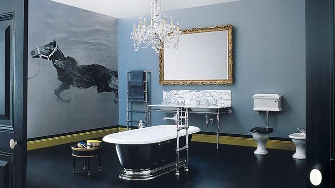 Những mẫu bồn tắm đủ sức khiến cả căn phòng tắm bừng sáng - Ảnh 16.
