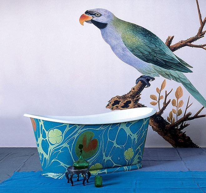 Những mẫu bồn tắm đủ sức khiến cả căn phòng tắm bừng sáng - Ảnh 17.