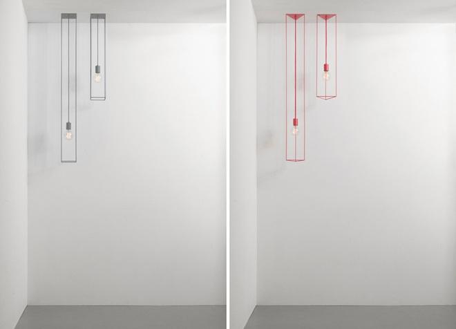 Không gian sống cá tính đến bất ngờ với những mẫu đèn trang trí hình học - Ảnh 8.