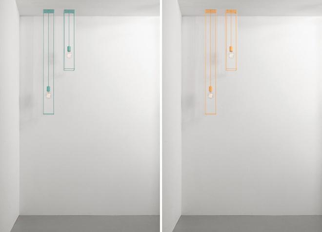 Không gian sống cá tính đến bất ngờ với những mẫu đèn trang trí hình học - Ảnh 9.