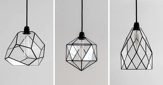 Không gian sống cá tính đến bất ngờ với những mẫu đèn trang trí hình học - Ảnh 15.