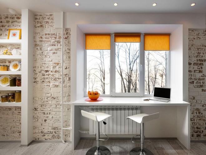 Căn hộ 22m² trang trí theo phong cách tối giản và đầy đủ chức năng cho vợ chồng trẻ - Ảnh 4.