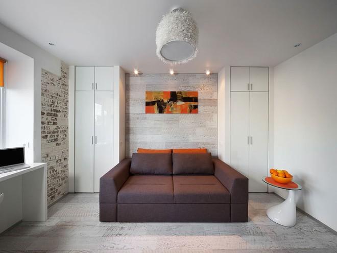Căn hộ 22m² trang trí theo phong cách tối giản và đầy đủ chức năng cho vợ chồng trẻ - Ảnh 5.