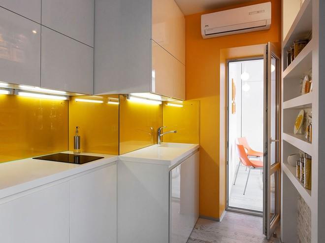 Căn hộ 22m² trang trí theo phong cách tối giản và đầy đủ chức năng cho vợ chồng trẻ - Ảnh 7.