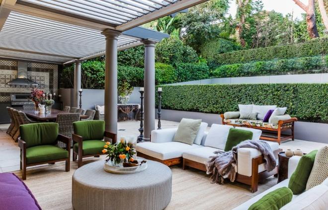 Tạo phòng khách ngoài trời đẹp như trong mơ nhờ ý tưởng trang trí sáng tạo sau - Ảnh 7.