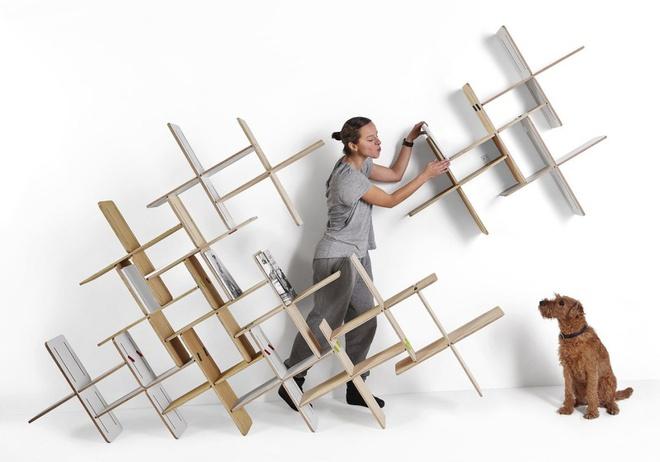 Những mẫu thiết kế kệ lưu trữ vô cùng thông minh, linh hoạt cho không gian sống hiện đại - Ảnh 1.