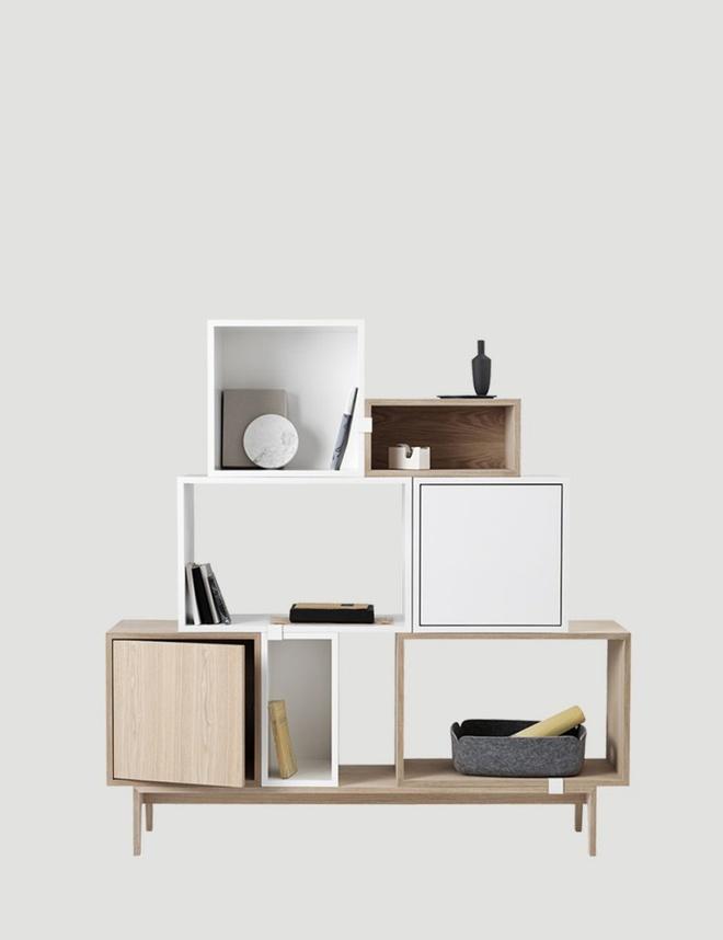 Những mẫu thiết kế kệ lưu trữ vô cùng thông minh, linh hoạt cho không gian sống hiện đại - Ảnh 4.