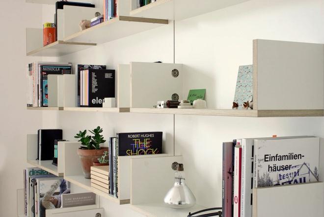 Những mẫu thiết kế kệ lưu trữ vô cùng thông minh, linh hoạt cho không gian sống hiện đại - Ảnh 12.