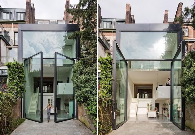 Qua rồi cái thời cửa ra vào 1 kiểu, những mẫu cửa ra vào cách tân dưới đây sẽ làm ngôi nhà của bạn sáng bừng - Ảnh 3.