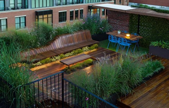 6 cách thiết kế sân thượng vừa đẹp vừa hữu ích bạn không nên bỏ qua - Ảnh 4.