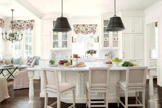 Phòng bếp điệu đà với những mẫu rèm cửa đẹp ngất ngây - Ảnh 3.