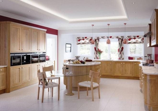 Phòng bếp điệu đà với những mẫu rèm cửa đẹp ngất ngây - Ảnh 4.