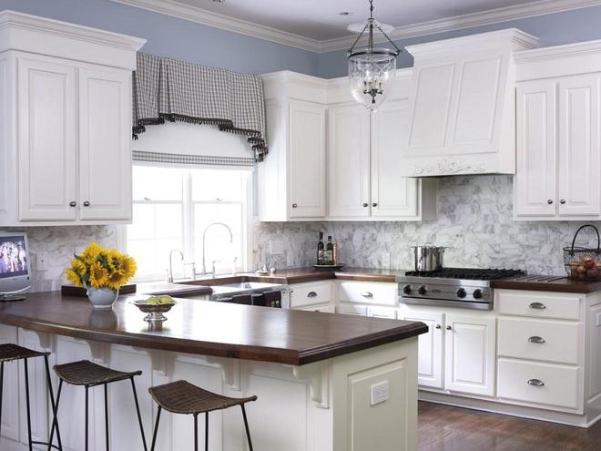 Phòng bếp điệu đà với những mẫu rèm cửa đẹp ngất ngây - Ảnh 7.