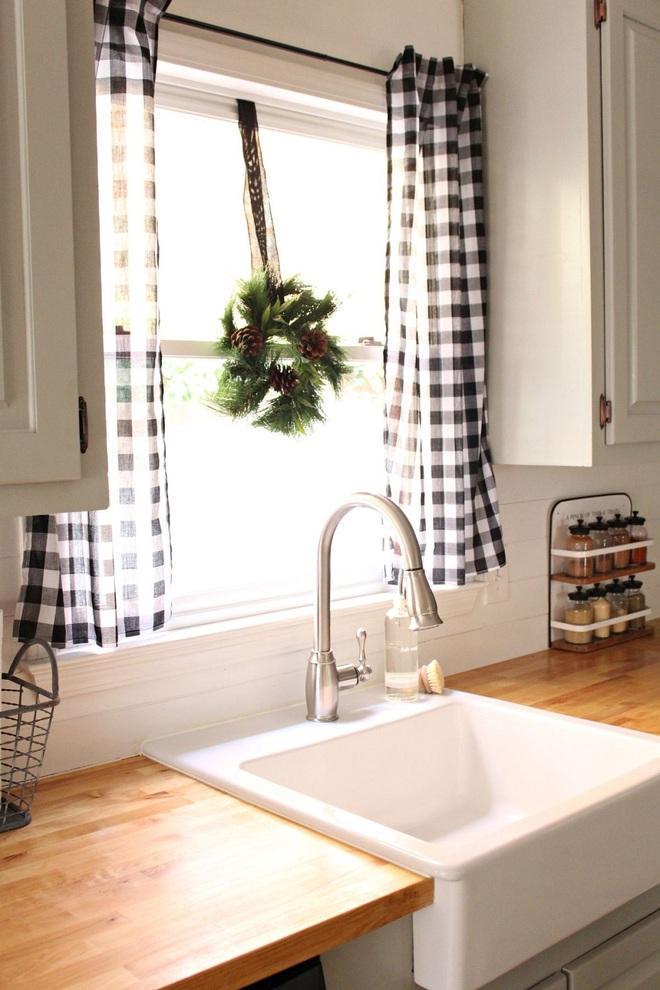 Phòng bếp điệu đà với những mẫu rèm cửa đẹp ngất ngây - Ảnh 8.