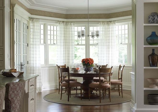 Phòng bếp điệu đà với những mẫu rèm cửa đẹp ngất ngây - Ảnh 9.